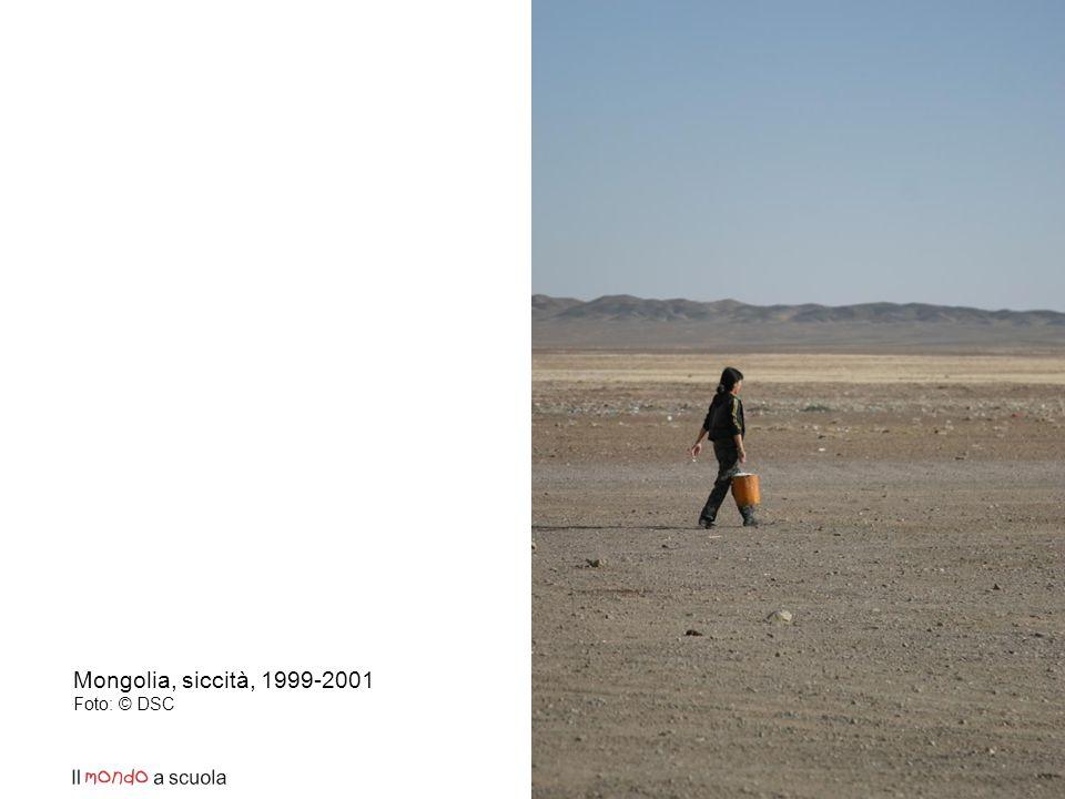 Mongolia, siccità, 1999-2001 Foto: © DSC