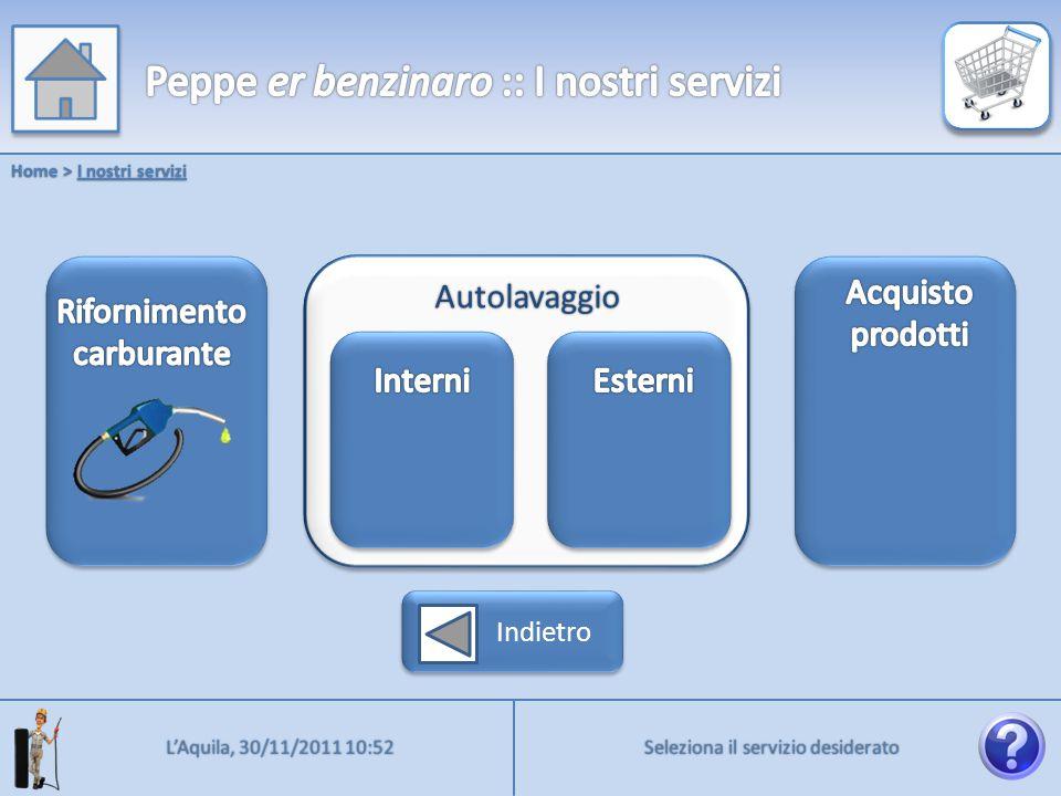 Benzina verde Home > Rifornimento Diesel Diesel + Metano GPL 5€ 10€ 20€ PIENO Indietro Prosegui Prosegui L'Aquila, 30/11/2011 10:52 Attenzione Prosegui Tempo di attesa stimato: 1 minuto Proseguire.