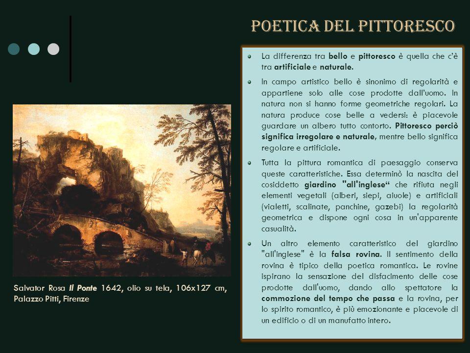 Il titolo del dipinto non è l esaltazione di una impresa umana, ma piuttosto la rappresentazione dell ineluttabile potenza della natura.