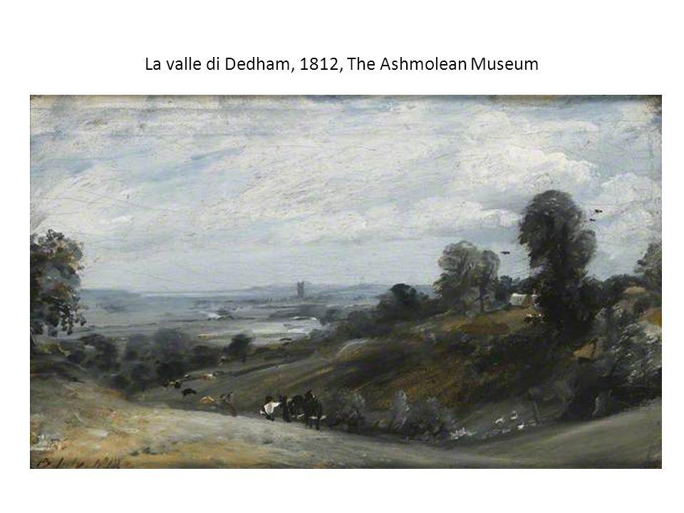 La valle di Dedham, 1812, The Ashmolean Museum