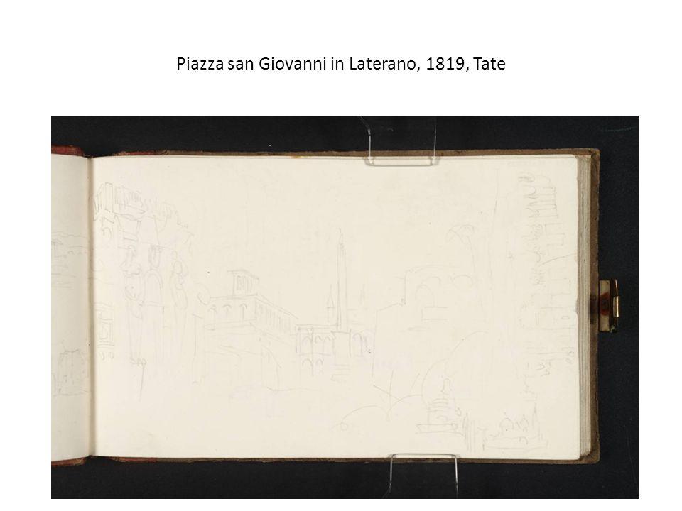 Piazza san Giovanni in Laterano, 1819, Tate