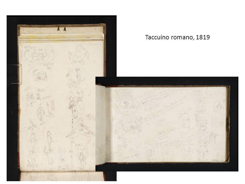 Taccuino romano, 1819