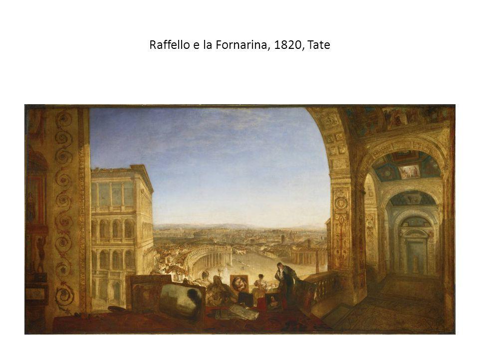 Raffello e la Fornarina, 1820, Tate