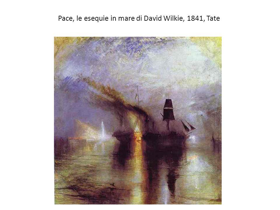 Pace, le esequie in mare di David Wilkie, 1841, Tate