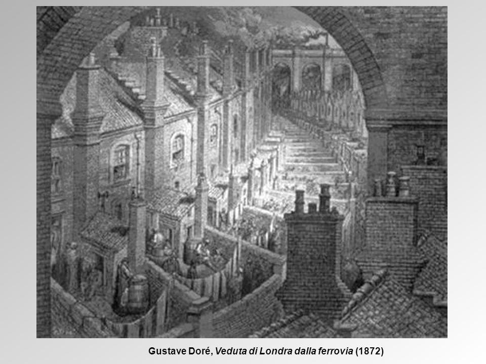 Gustave Doré, Veduta di Londra dalla ferrovia (1872)