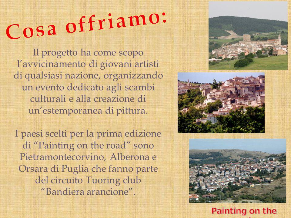 Il Touring club italiano seleziona e certifica con la Bandiera arancione i borghi eccellenti dell entroterra che non solo godono di un patrimonio storico, culturale e ambientale di pregio, ma che sanno offrire al turista un accoglienza di qualità.