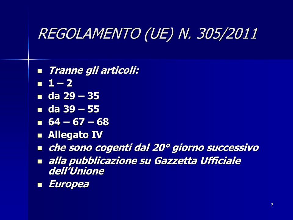 7 REGOLAMENTO (UE) N.