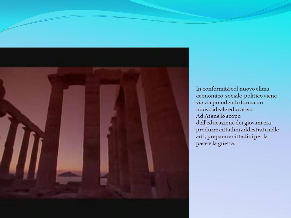 Atene viene da sempre associata alla democrazia e al massimo sviluppo artistico e intellettuale della Grecia. Molte delle invenzioni del pensiero dovu
