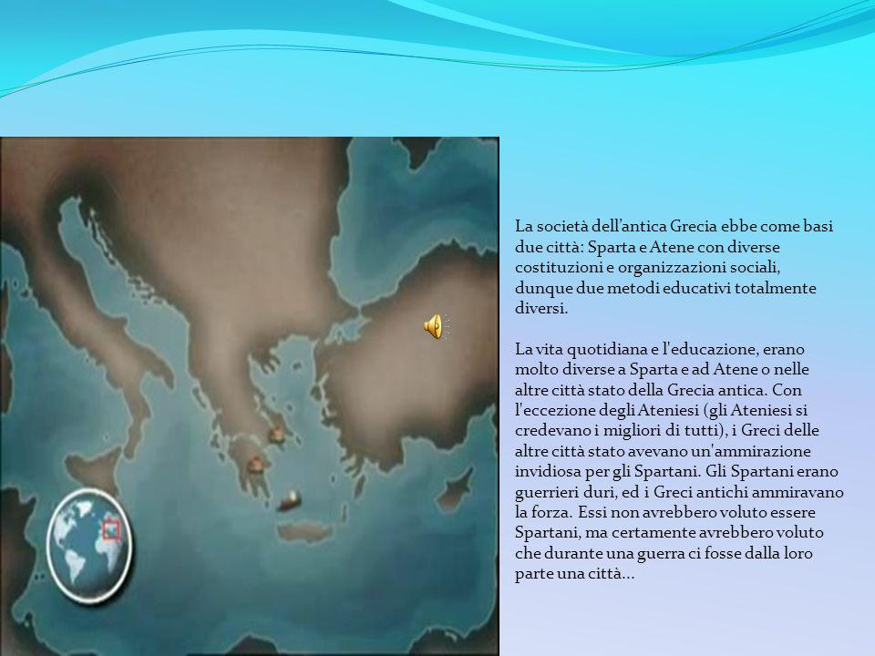 Fine del VII secolo a.C. L'organizzazione dei Greci del continente ha inaugurato un periodo di stabilità, di ricchezza, di ulteriore espansione della