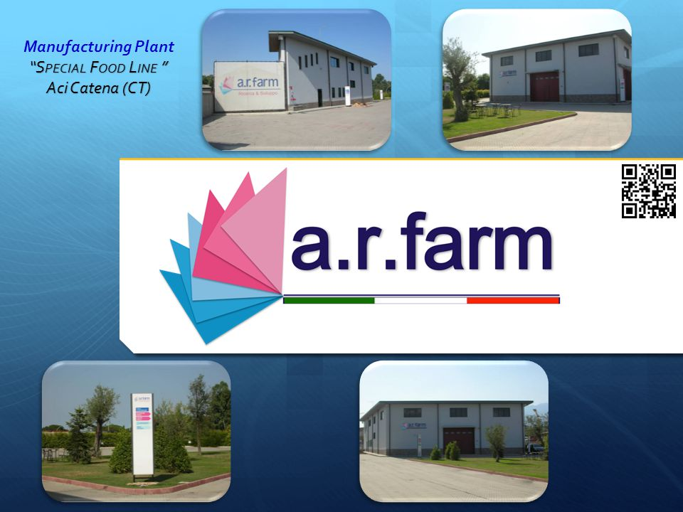 "Manufacturing Plant ""S PECIAL F OOD L INE "" Aci Catena (CT)"