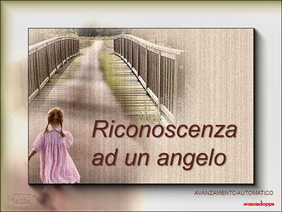 Ma l'angelo è lì che aspetta, è nascosto in una mano, è nascosto in una mano, tesa per donare ma anche per chiedere: ma anche per chiedere: