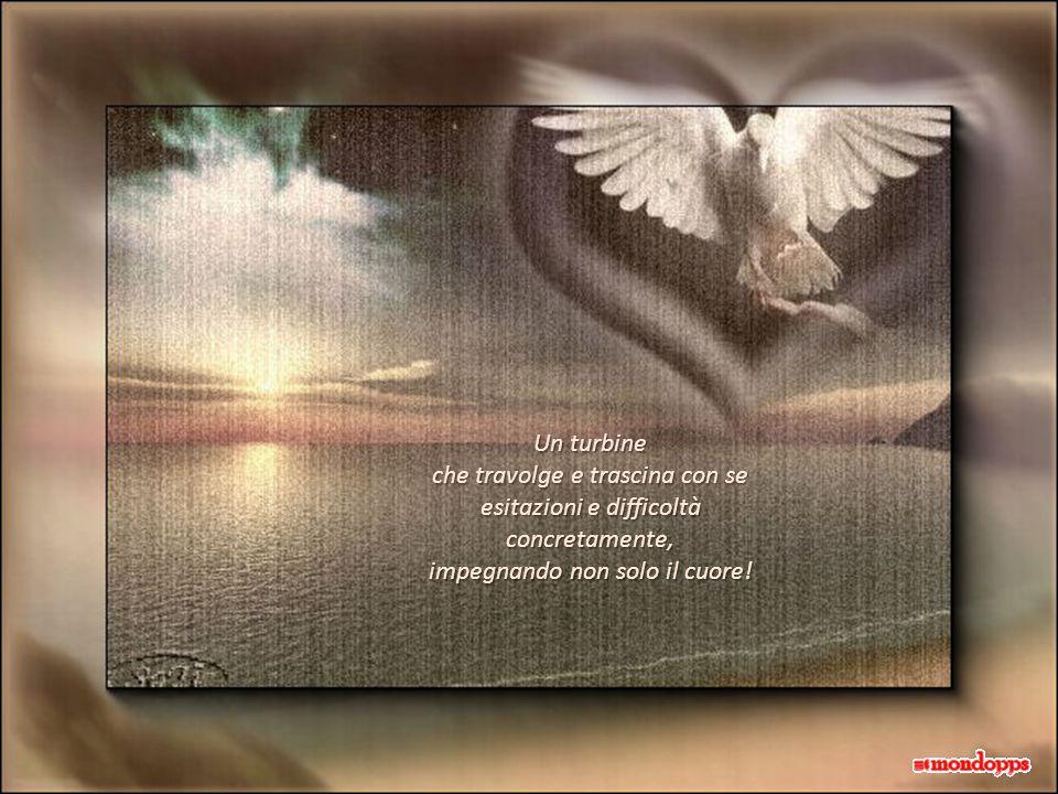 E penso a quanti di noi, tanto fragili da non saper chiedere, hanno vicino un angelo hanno vicino un angelo e non se ne accorgono.