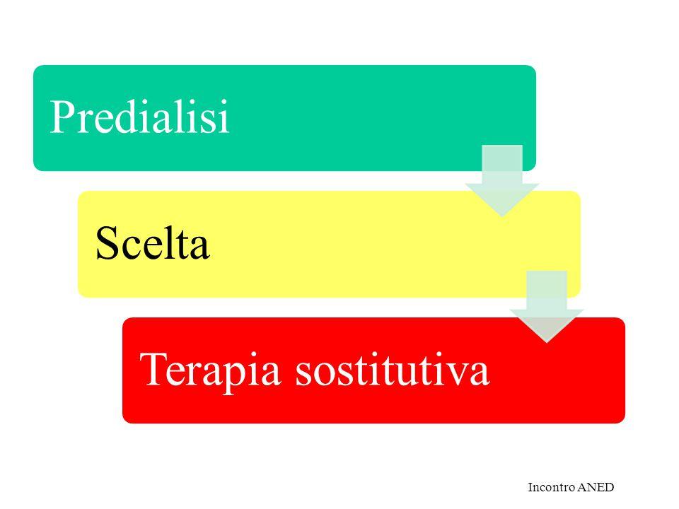 PredialisiSceltaTerapia sostitutiva Incontro ANED