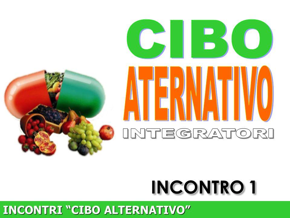 """INCONTRO 1 INCONTRI """"CIBO ALTERNATIVO"""""""