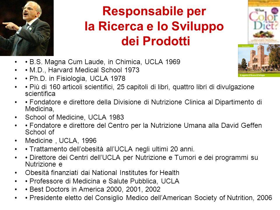 B.S.Magna Cum Laude, in Chimica, UCLA 1969 M.D., Harvard Medical School 1973 Ph.D.