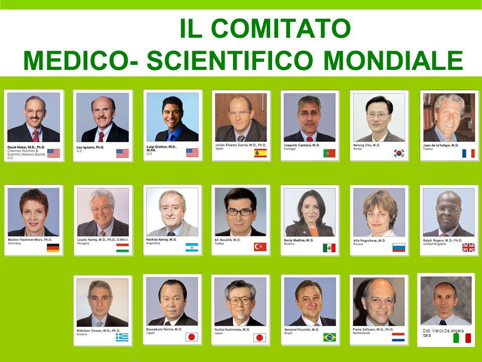 IL COMITATO MEDICO- SCIENTIFICO MONDIALE Dott. Marco De Angelis Italia