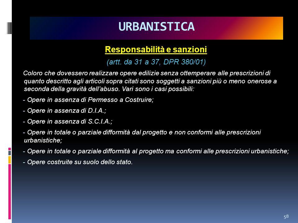 Responsabilità e sanzioni (artt.