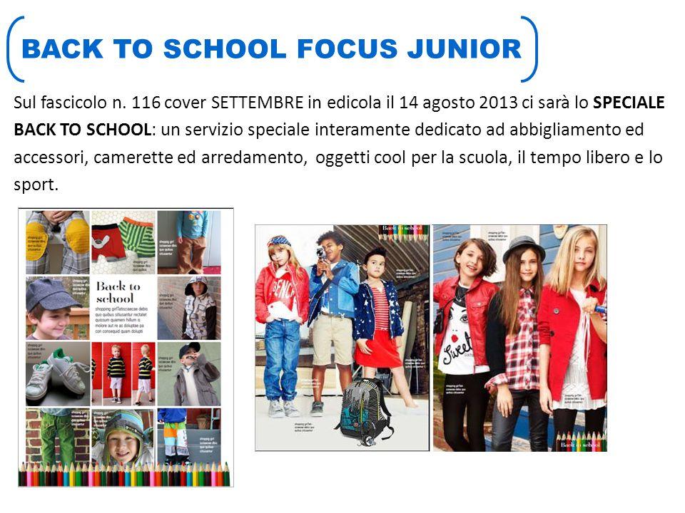 BACK TO SCHOOL FOCUS JUNIOR