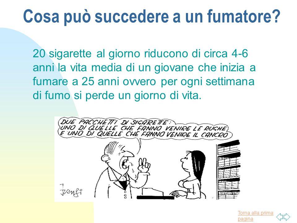 Torna alla prima pagina Fumo e gravidanza n I bambini nati da donne che hanno fumato in gravidanza pesano meno n E si ammalano più di frequente