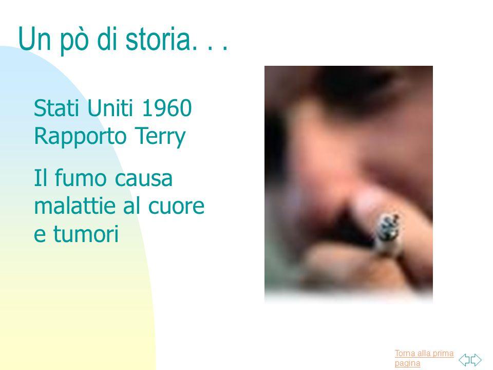 Torna alla prima pagina STORIA DELLA LEGISLAZIONE ITALIANA SUL FUMO DI TABACCO n 1994, il 12 gennaio venne pubblicato sulla Gazzetta Ufficiale il Programma per il Piano Sanitario Nazionale nel triennio 1994-96, che prevedeva tra l altro, di formulare leggi idonee a controllare il fumo di tabacco nei luoghi chiusi, per adeguare il nostro Paese alle norme della CEE E ALLA FINE.......