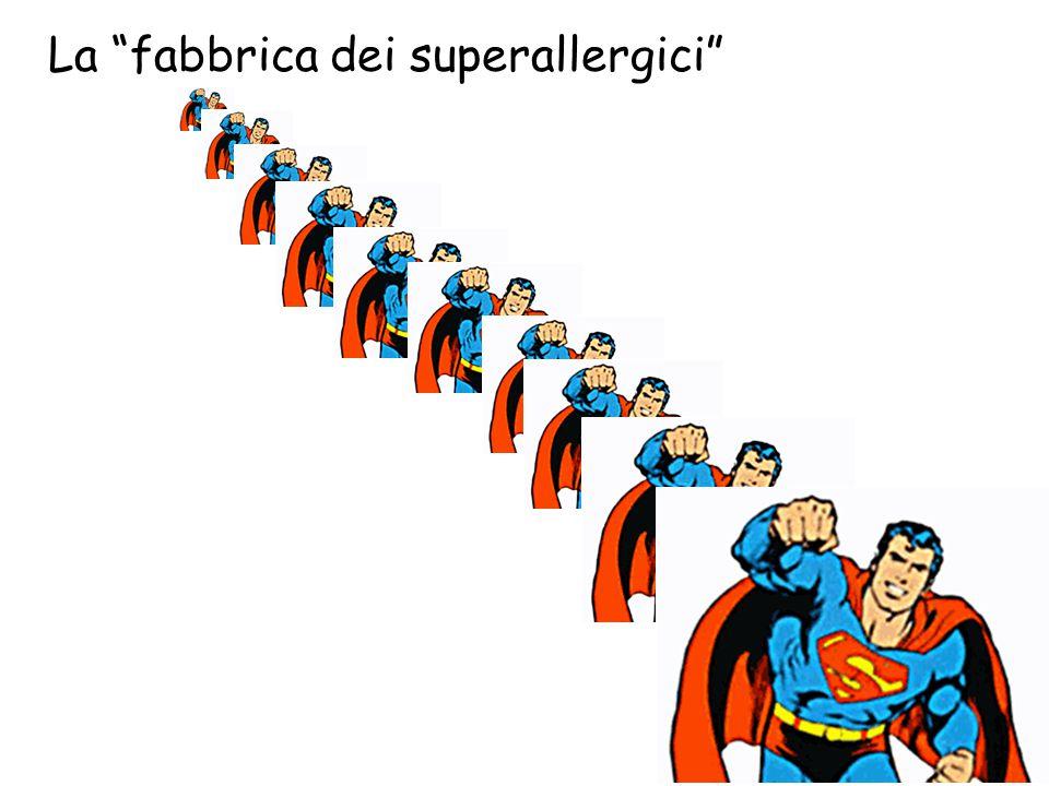 """La """"fabbrica dei superallergici"""""""