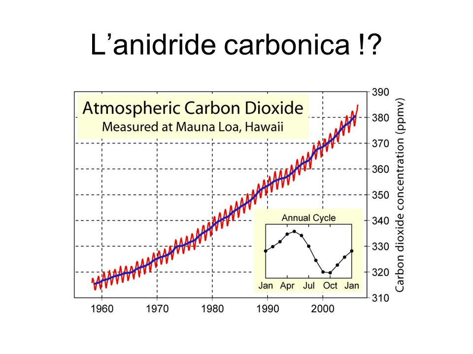 L'anidride carbonica !?