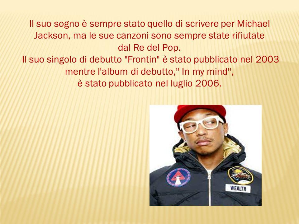Il suo sogno è sempre stato quello di scrivere per Michael Jackson, ma le sue canzoni sono sempre state rifiutate dal Re del Pop.