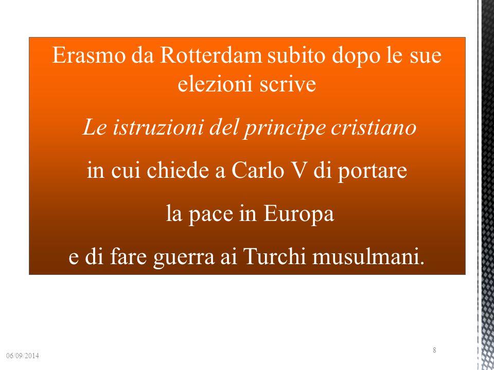 Carlo V viene eletto imperatore e inizia il suo progetto: ricostruire il Sacro Romano Impero 06/09/2014 7