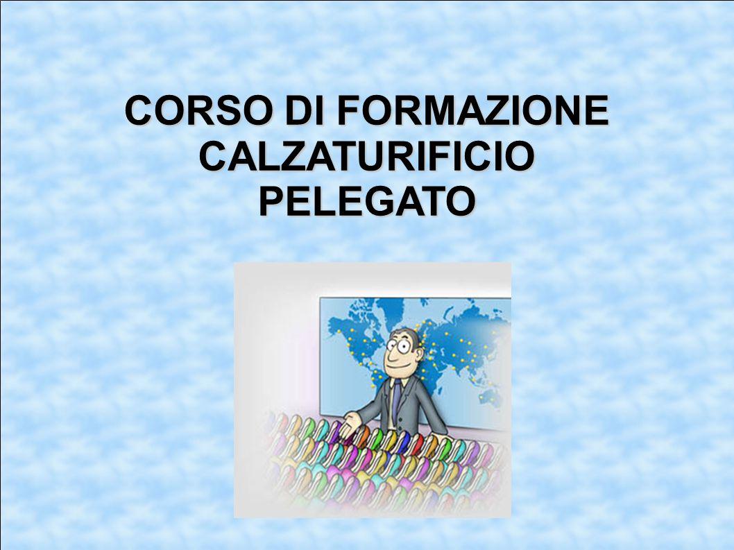 CORSO DI FORMAZIONE CALZATURIFICIOPELEGATO