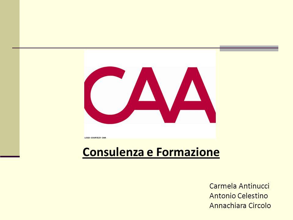 Consulenza e Formazione Carmela Antinucci Antonio Celestino Annachiara Circolo
