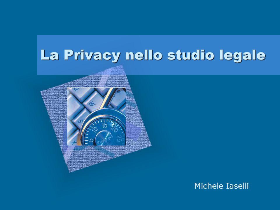 La Privacy nello studio legale Logo della società Michele Iaselli