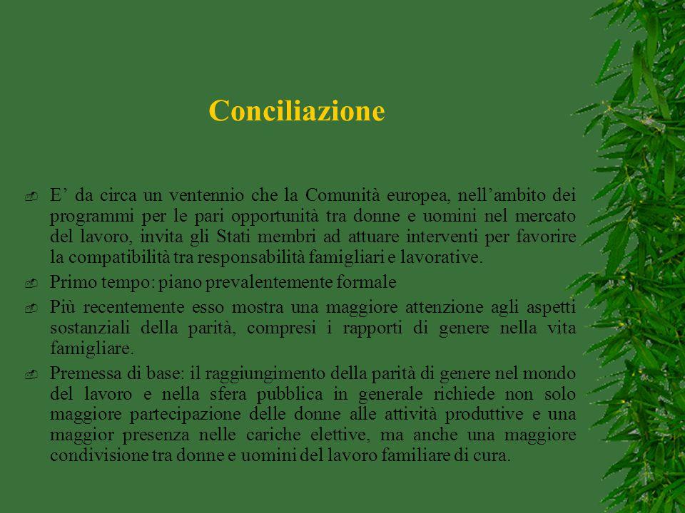 Accordo quadro sul congedo parentale del 1995.
