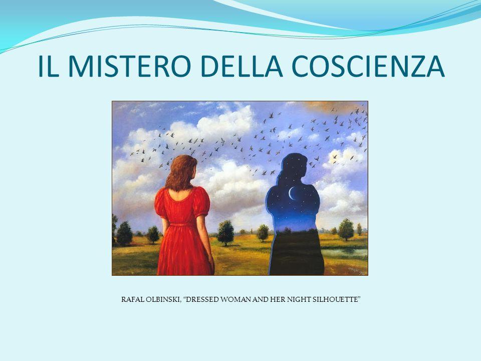 """IL MISTERO DELLA COSCIENZA RAFAL OLBINSKI, """"DRESSED WOMAN AND HER NIGHT SILHOUETTE"""""""