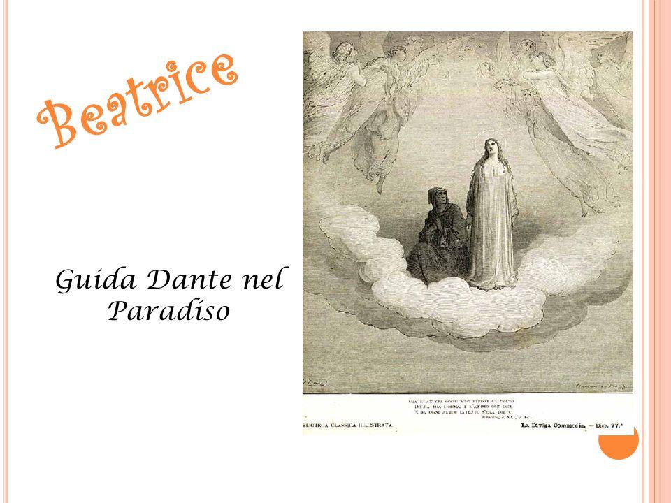 Beatrice Guida Dante nel Paradiso