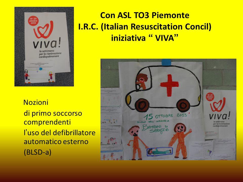 Con ASL TO3 Piemonte I.R.C.