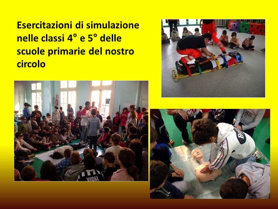 Esercitazioni di simulazione nelle classi 4° e 5° delle scuole primarie del nostro circolo