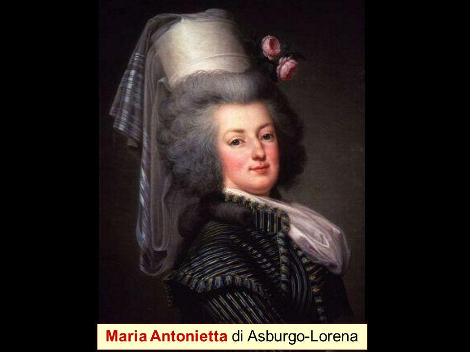 Maria Antonietta di Asburgo-Lorena