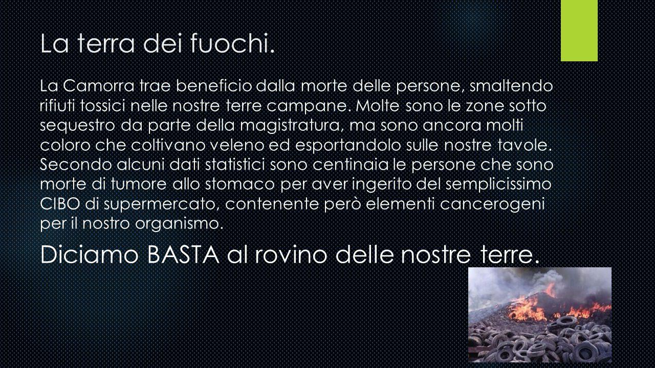 La Camorra. Nata in Campania, la Camorra è composta da più di 100 cosche, penetrate anche in Lazio e Lombardia. Le molte lotte tra le diverse famiglie