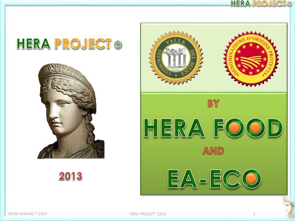 Emilio Antonaci ® 20132 HERA PROJECT® 2013
