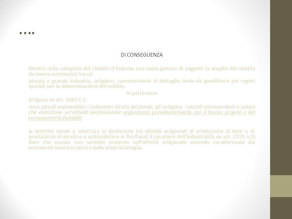 ….Imprenditore agricolo ex art. 2135 C.C.