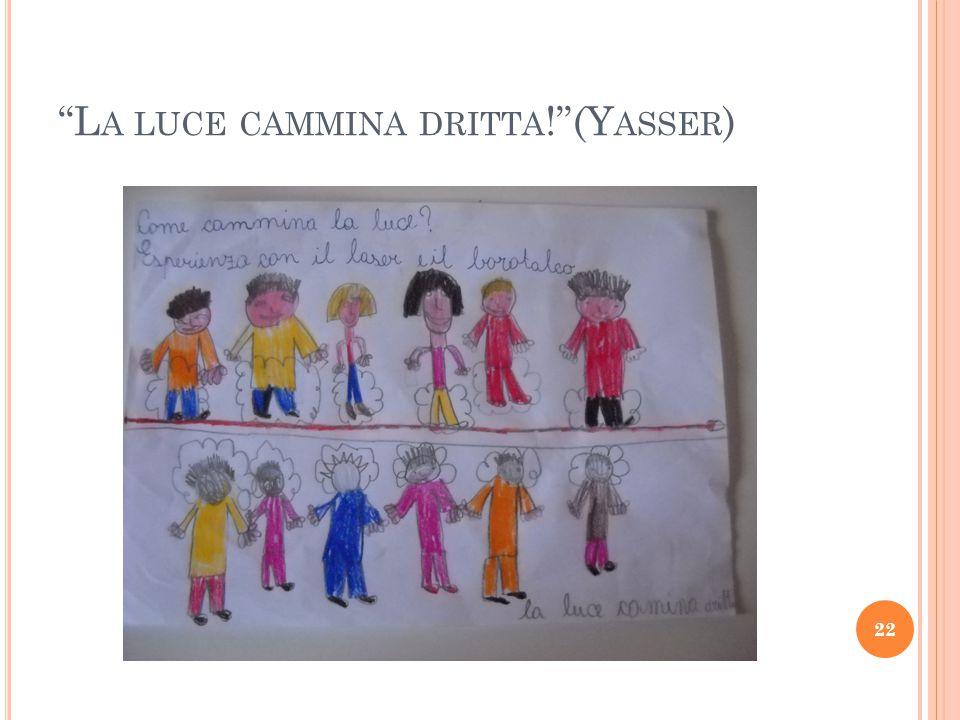 L A LUCE CAMMINA DRITTA ! (Y ASSER ) 22