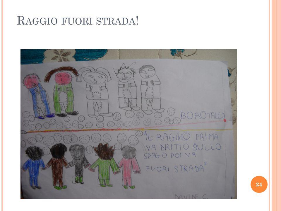 R AGGIO FUORI STRADA ! 24