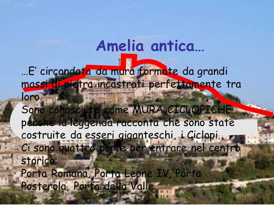 SE… … dei 430 alunni intervistati nella Scuola Primaria di Amelia solo il 14% risiede entro le mura di un antico borgo .
