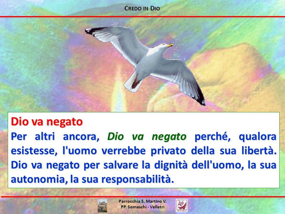 C REDO IN D IO Parrocchia S.Martino V. PP.