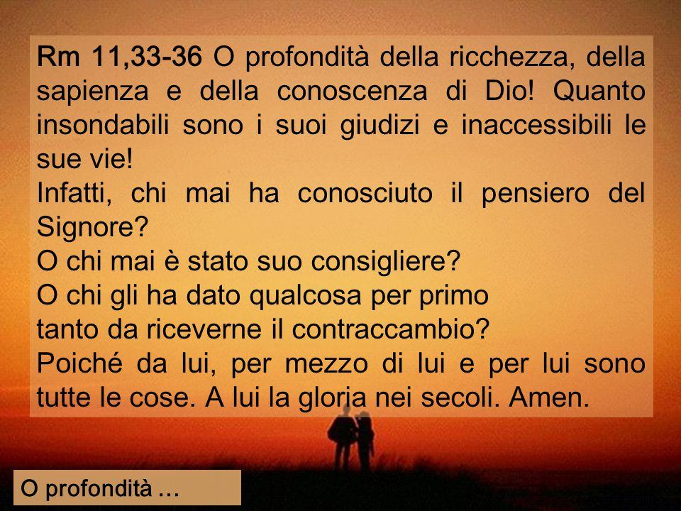 (segue) LETTERA AI ROMANI E Il mistero dell' incredulità dei giudei - Malgrado il peccato d' Israele, il DISEGNO di Salvezza di Dio è UNIVERSALE 9-11