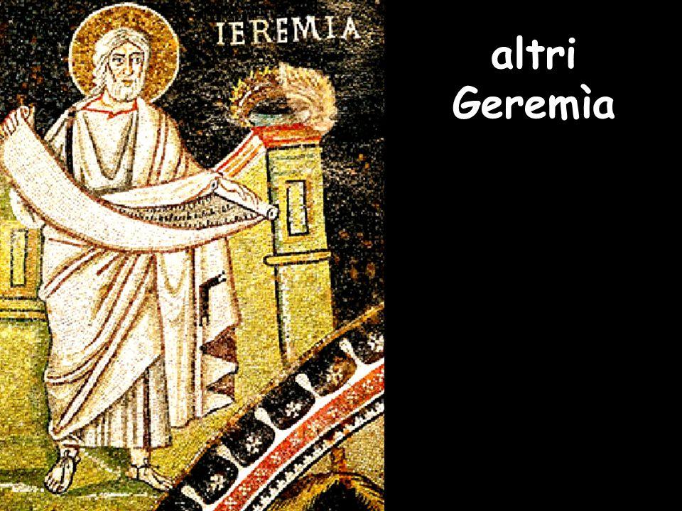 altri Geremìa