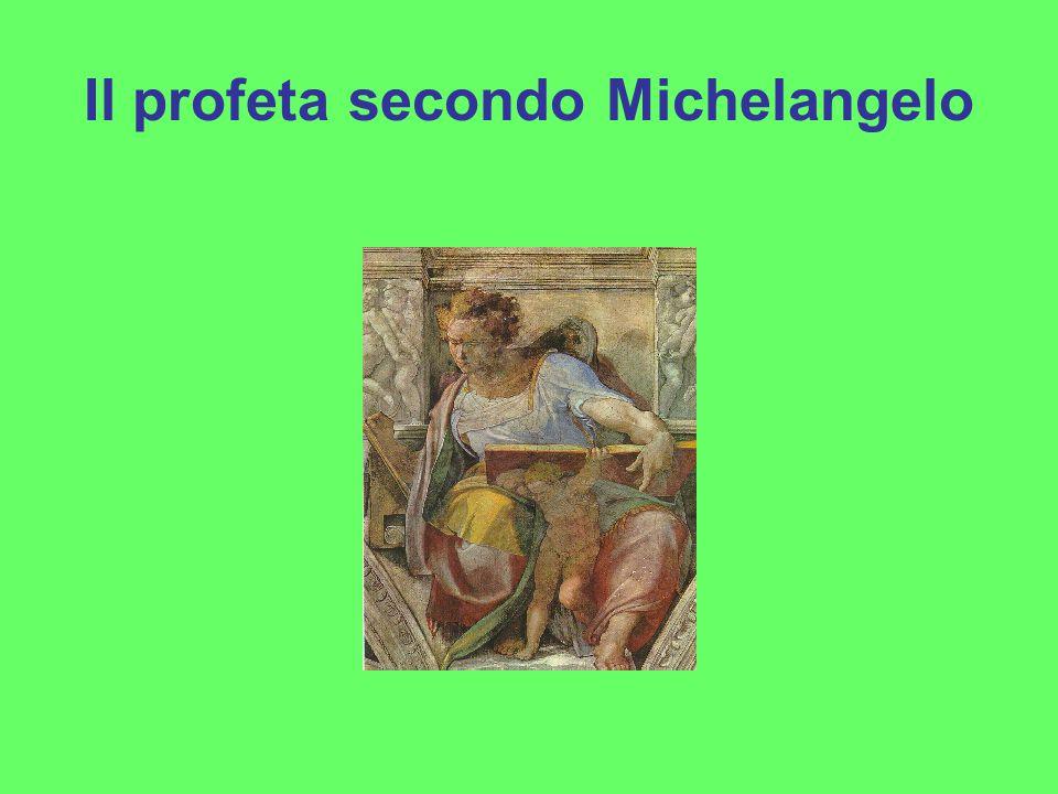 Il profeta secondo Michelangelo