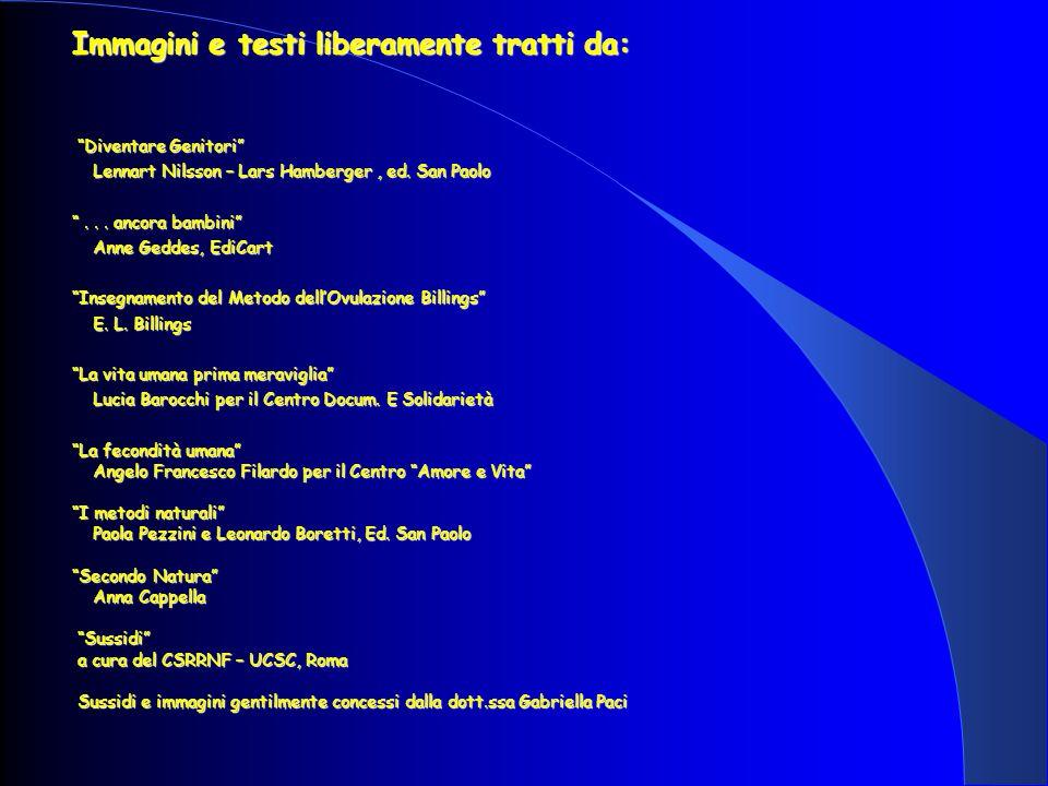 Immagini e testi liberamente tratti da: Diventare Genitori Diventare Genitori Lennart Nilsson – Lars Hamberger, ed.