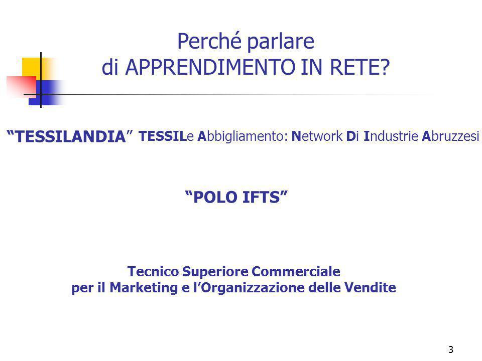 marcoguspini@tiscali.it3 Perché parlare di APPRENDIMENTO IN RETE.
