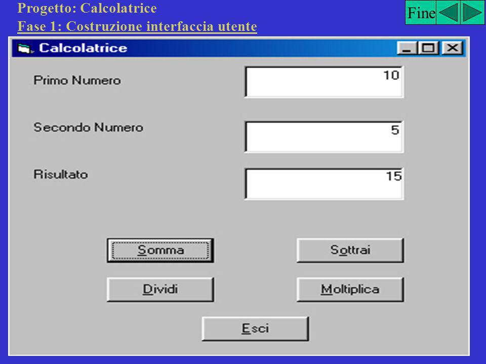Ambiente di lavoro Visual Basic